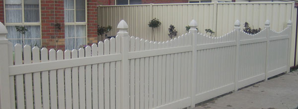 Pvc Picket Fencing Residential Properties
